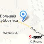 Офис врача общей практики д. Большая Субботиха на карте Кирова