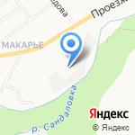 Старкоff на карте Кирова