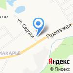 Общественные Макарьевские Бани на карте Кирова