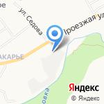 Криом на карте Кирова