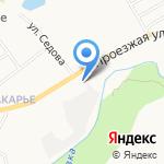Сеть минимаркетов на карте Кирова