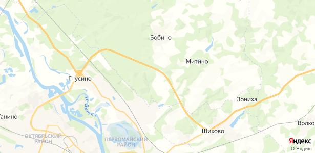 Кассины на карте