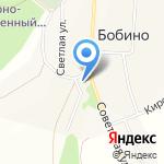 Бобинская сельская библиотека на карте Кирова