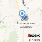 Юбилейное на карте Кирова