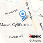 Основная общеобразовательная школа №19 на карте Кирова