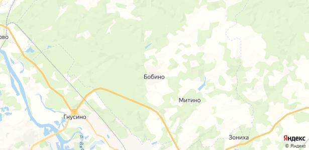 Бобино на карте
