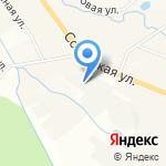 Кстинино на карте Кирова