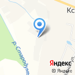 Лесоперерабатывающее предприятие на карте Кирова