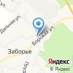 Заборский фельдшерско-акушерский пункт на карте Кирова