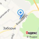 Магазин №95 на карте Кирова