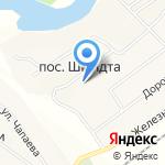 Основная общеобразовательная школа №12 на карте Тольятти