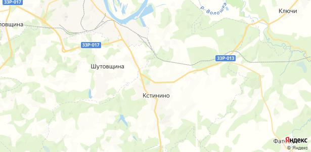 Сунцы на карте