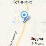 Хлебец на карте Кирова
