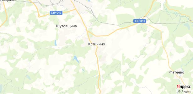 Кстинино на карте