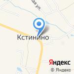 Средняя общеобразовательная школа с. Кстинино на карте Кирова