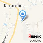 Кстининская библиотека на карте Кирова