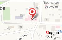 Схема проезда до компании Центральная городская больница в Зольном
