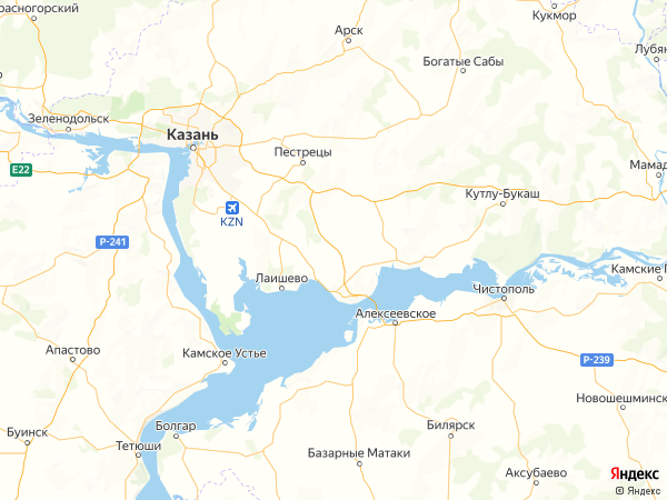 село Емельяново на карте