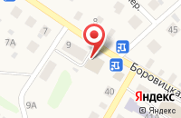 Схема проезда до компании Zooбастик в Порошино