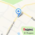 Офис врача общей практики с. Порошино на карте Кирова