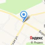 Киоск по продаже овощей на карте Кирова