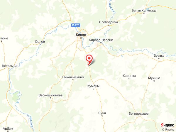 село Бурмакино на карте