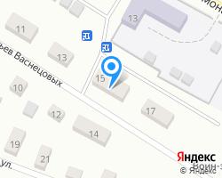 Схема местоположения почтового отделения 610932