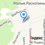 Модера на карте Кирова