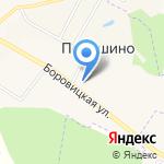 Порошино на карте Кирова