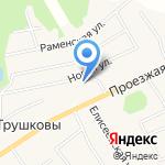 Царь Баня на карте Кирова