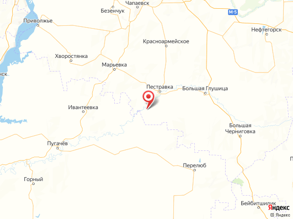 село Ломовка на карте