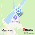Митино на карте Кирова