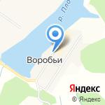 Воробьи на карте Кирова