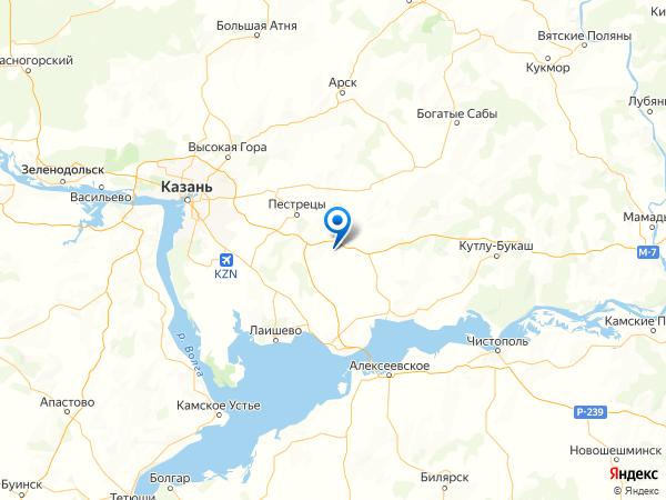 село Екатериновка на карте