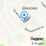 Порошинские Деревянные Дома на карте Кирова