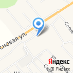 Попутчик на карте Кирова