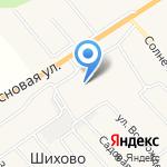 Столбовская сельская библиотека на карте Кирова