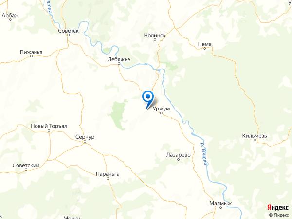 село Архангельское на карте