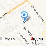 Шихово на карте Кирова