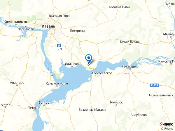 село Малая Елга на карте
