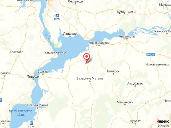 село Караваево на карте