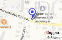 Схема проезда до компании ТРАНСПОРТНАЯ ФИРМА АВТОМОБИЛИСТ в Арске