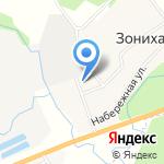 Зоновский фельдшерско-акушерский пункт на карте Кирова