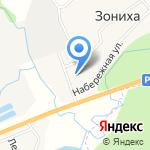 Дом культуры д. Зониха на карте Кирова