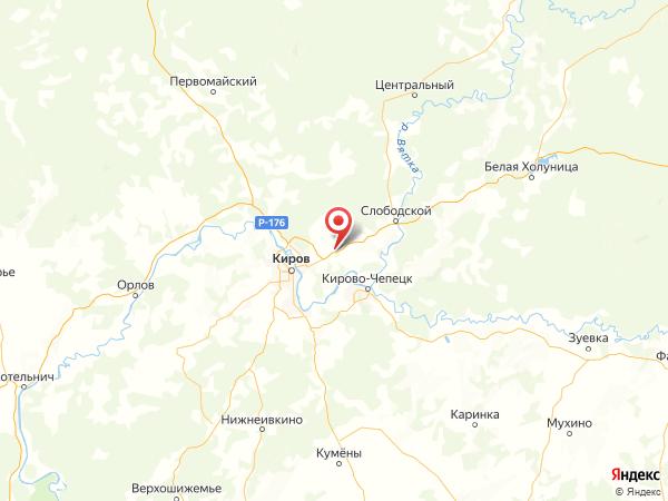 деревня Зониха на карте