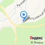 Кутузовская на карте Кирова