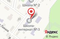 Схема проезда до компании Санаторная школа-интернат №3 городского округа Жигулёвск в Солнечной Поляне