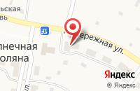 Схема проезда до компании Поволжский банк Сбербанка России в Солнечной Поляне
