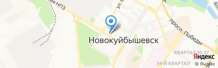 Партнер на карте Новокуйбышевска