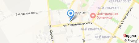 Дары моря на карте Новокуйбышевска